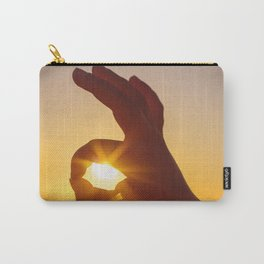 Everything's OK in the Summer Carry-All Pouch