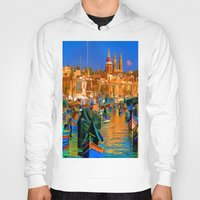 channel Hoodies featuring The Channel by Robin Curtiss