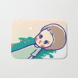 a little star Bath Mat