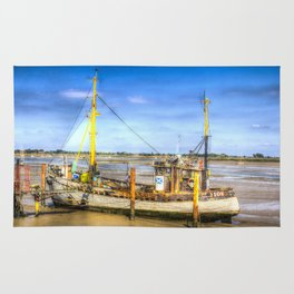 "Heybridge Basin Boat "" The Ranger "" Rug"