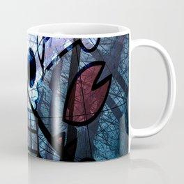 Pirates Flag with Dark Forest 3 Coffee Mug