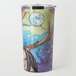 witchy moon Travel Mug