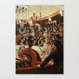 James Tissot - Women of Paris the circus lover Canvas Print