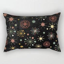 Chalkboard Christmas Pattern 03 Rectangular Pillow