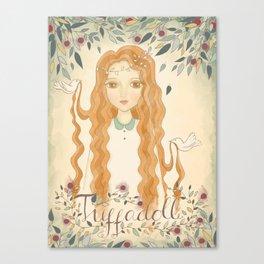 Queen Jodha Canvas Print