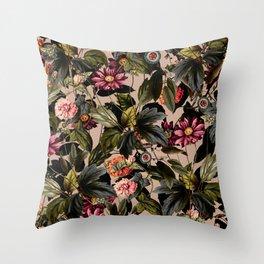 Vintage Garden II Throw Pillow