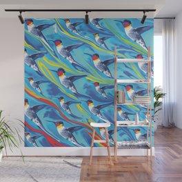 Birds of  Flight Wall Mural