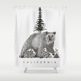 CALIFORNIA STATE Shower Curtain