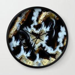 SJ Cummings : 5th Floor -Asian Plush Wall Clock
