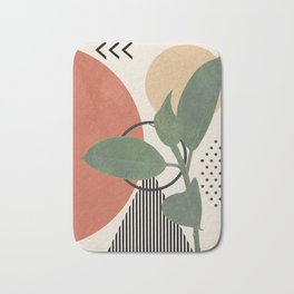 Nature Geometry III Bath Mat