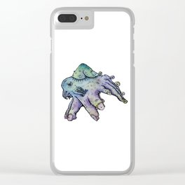 Under His Thumb Clear iPhone Case