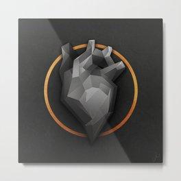 Golden Circle Metal Print
