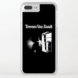 Townes Van Zandt Clear iPhone Case