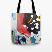 nirvana Tote Bags featuring NIRVANA/FELIX by Brandon Neher