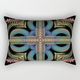 Omni-Abstract Rectangular Pillow
