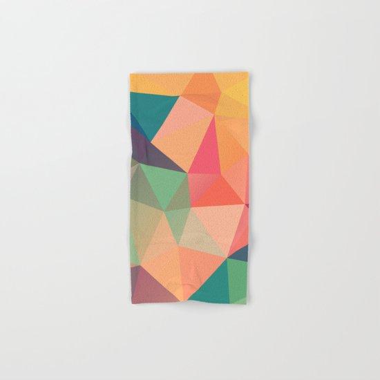 Geometric XV Hand & Bath Towel