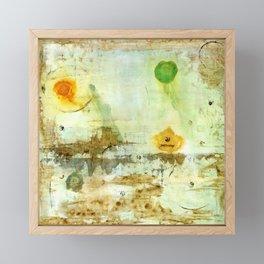 Drifting, Abstract Landscape Art Painting Framed Mini Art Print
