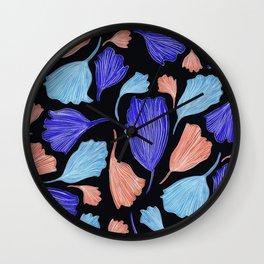 Matisse Ginkgo Leaves Wall Clock