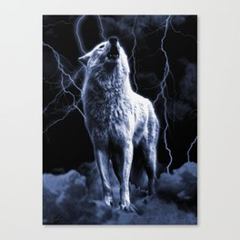 WHITE FANG Canvas Print