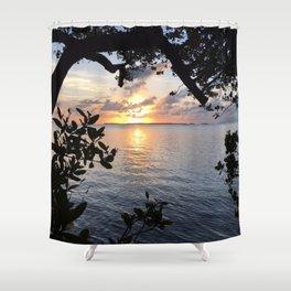 Sunset Key Largo Shower Curtain