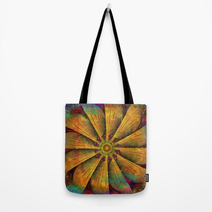 Mandala - Antiqued Tote Bag
