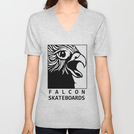 FALCON skateboards (brand) Unisex V-Neck