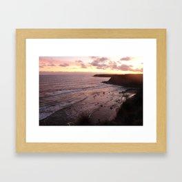 Inverloch Sunset Framed Art Print