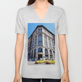 SoHo New York City Street Unisex V-Neck