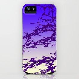 Ultraviolet Moon iPhone Case