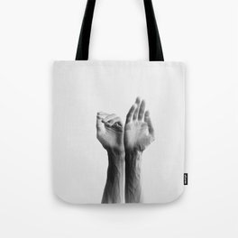 Forearms, inverted Tote Bag
