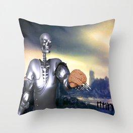 Hamlet Science-Fiction Throw Pillow