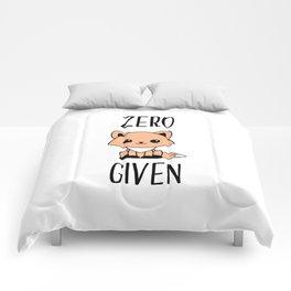 Zero Fox Given Comforters