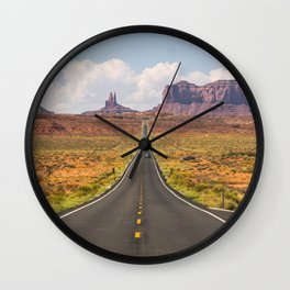 Monument Valley Utah, United States Wall Clock