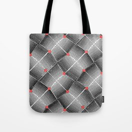 Optic (Coral) Tote Bag