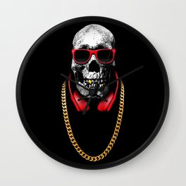 Hip Hop Pirate Wall Clock