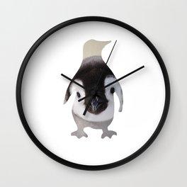 Penguin Cutout 2 Wall Clock