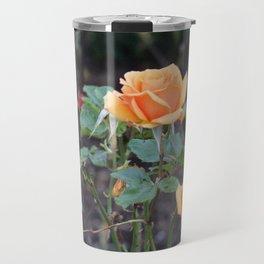 Orange Roses Travel Mug