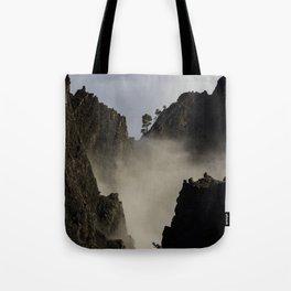 Vertical Lanscape Tote Bag