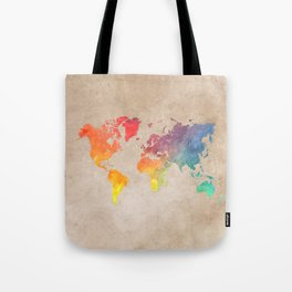World Map Maps #map #maps #world Tote Bag