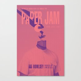 Paper Jam '15 III by Taylor Hale Canvas Print