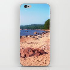 Summer Shores of Lake Superior iPhone & iPod Skin