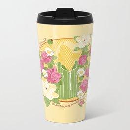 Olive Metal Travel Mug