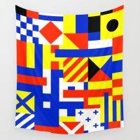 sail Wall Tapestries featuring Sail by Jan Luzar