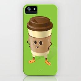 Happy Coffee iPhone Case