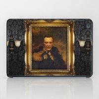 christopher walken iPad Cases featuring Christopher Walken - replaceface by replaceface