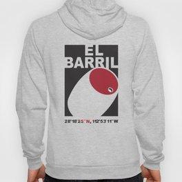 El Barril Black Hoody