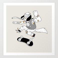 DWYD, Pups Art Print