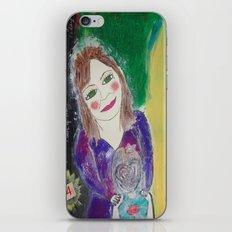 Self Love Portrait for Inner Peace  iPhone & iPod Skin