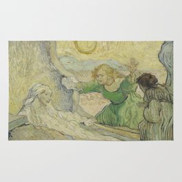 The Raising of Lazarus (after Rembrandt) Rug