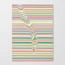 Zebra's Stripes Canvas Print
